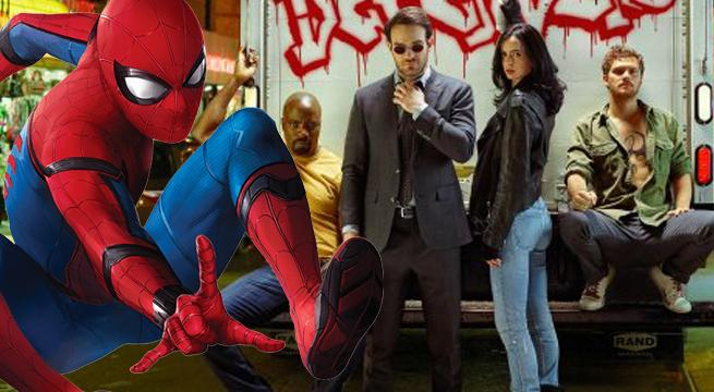 defenders spider man