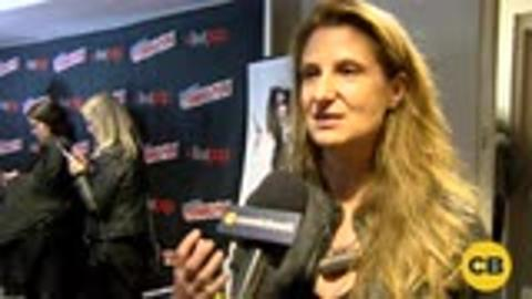 Director of Underworld: Blood Wars, Anna Foerster at the New York Comic Con screen capture