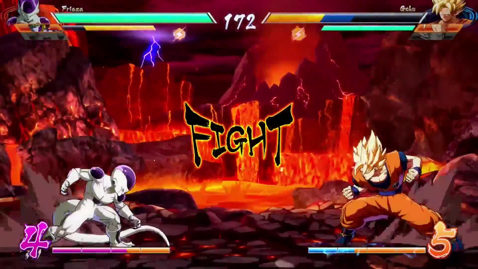 Dragon Ball FighterZ - Gameplay screen capture