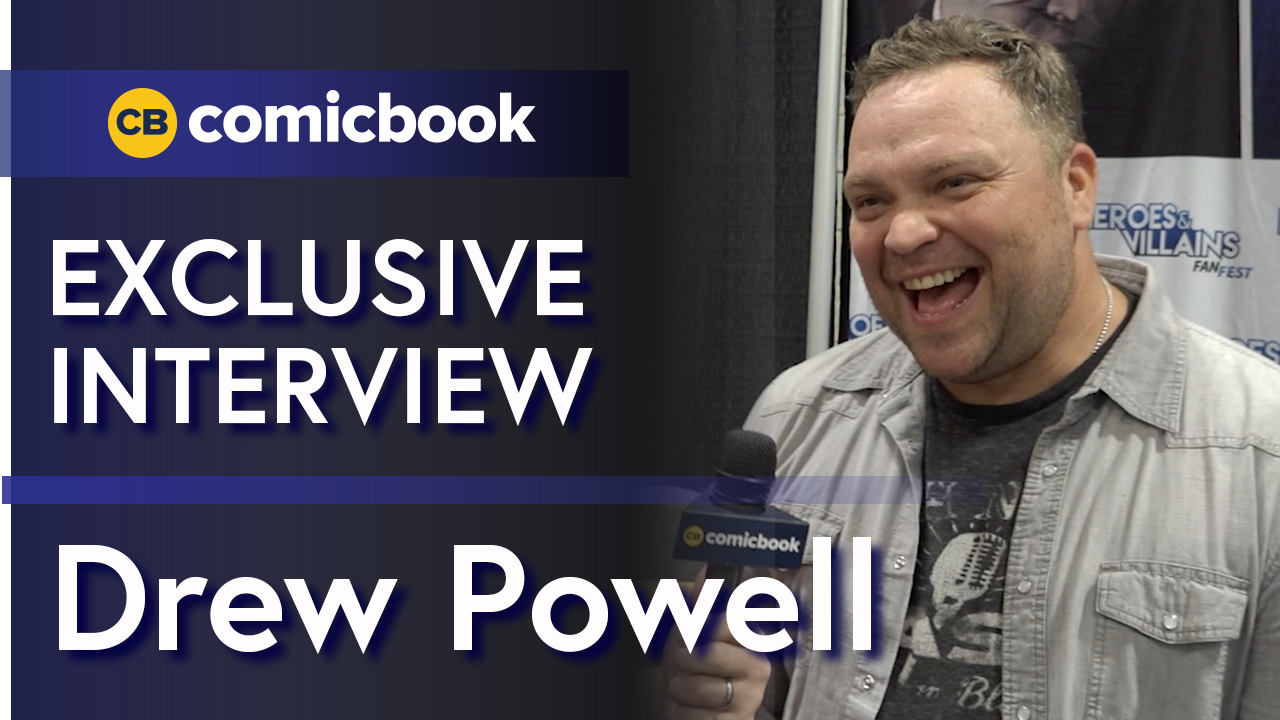 Drew Powell Talks Gotham screen capture