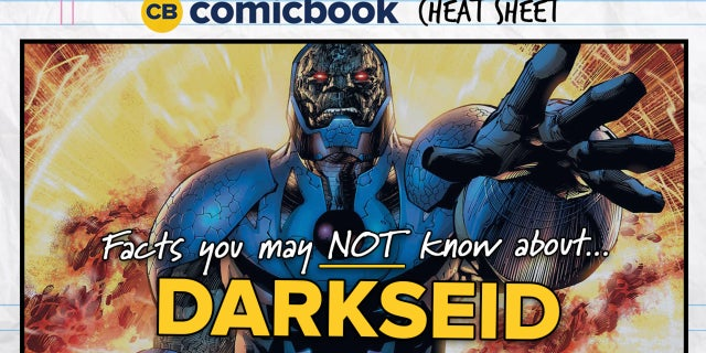 Facts About Darkseid - ComicBook Cheat Sheet screen capture