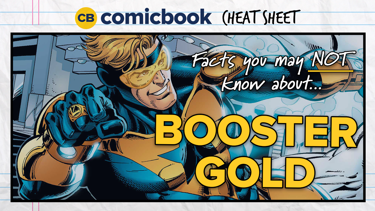 Facts You May NOT Know About Booster Gold - ComicBook Cheat Sheet screen capture