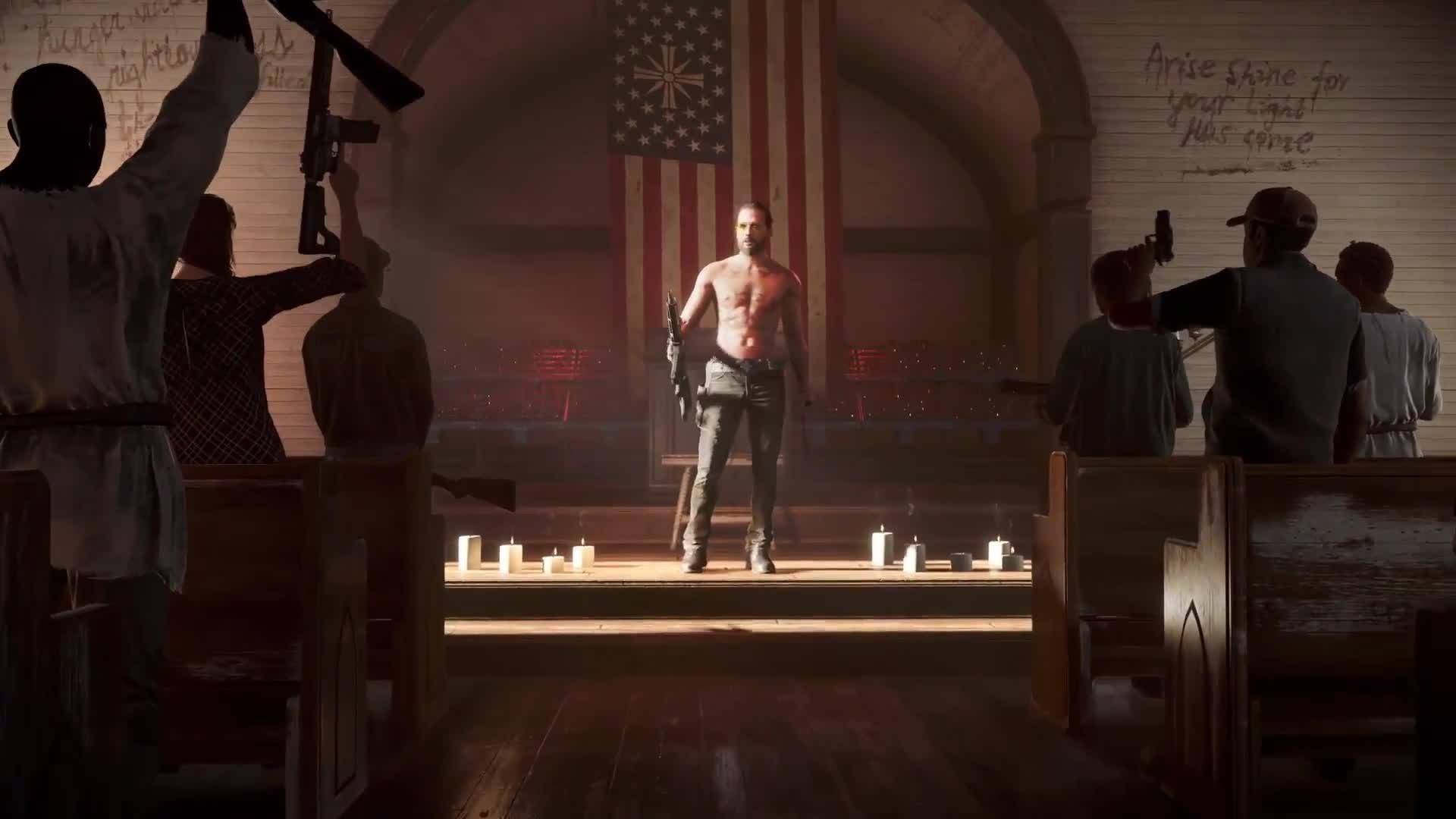 Far Cry 5 Amazing Grace Trailer screen capture