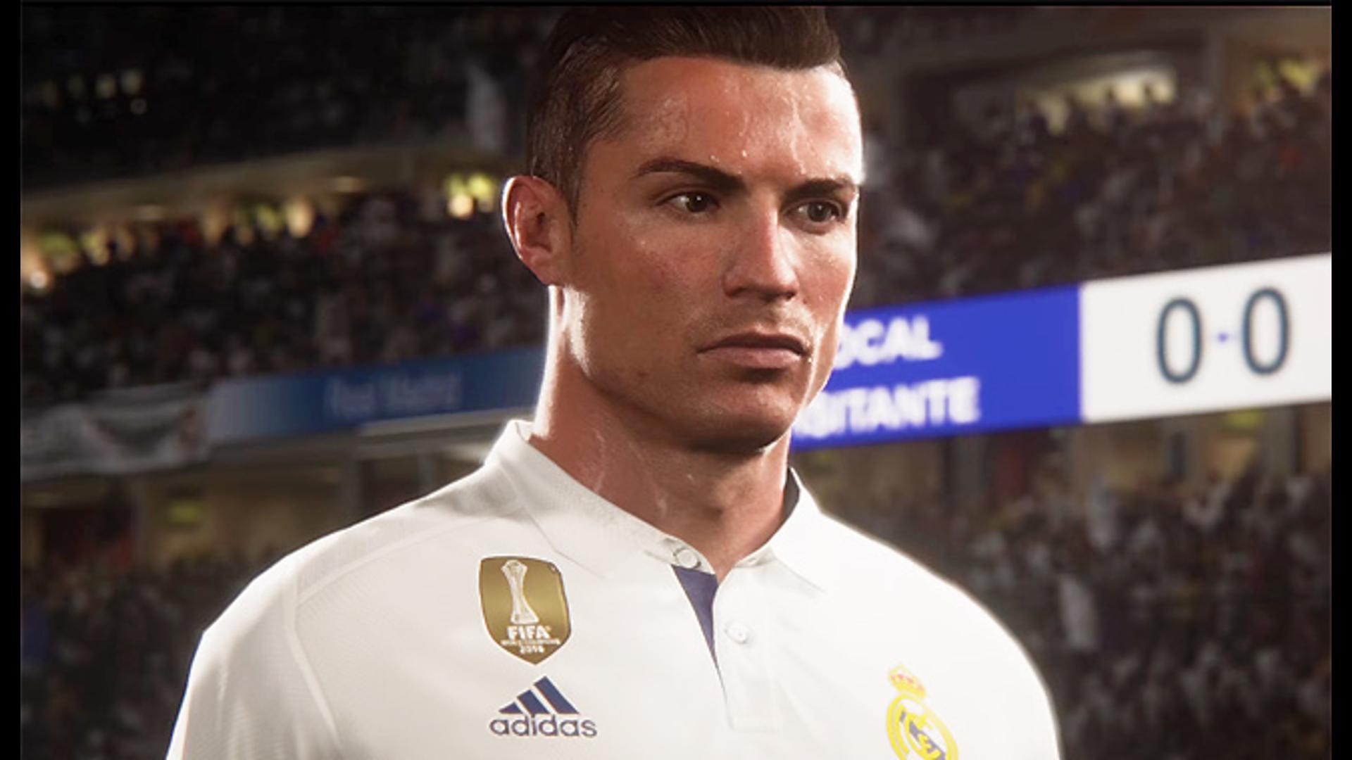 FIFA 18 Reveal Trailer -- Ronaldo screen capture
