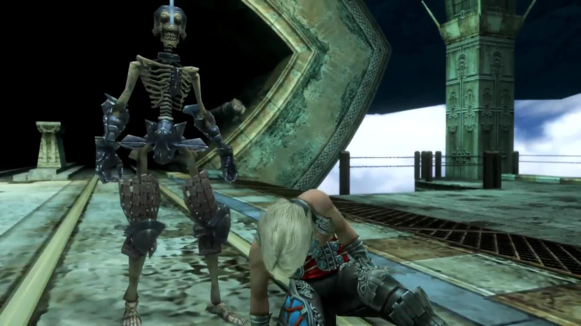 FINAL FANTASY XII THE ZODIAC AGE Gambit System Trailer screen capture