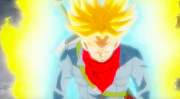 future trunks super saiyan anger