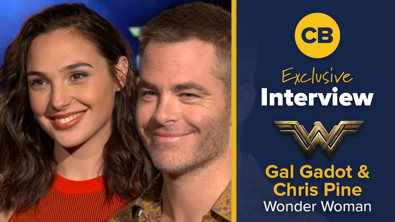 Gal Gadot and Chris Pine Talk Wonder Woman screen capture