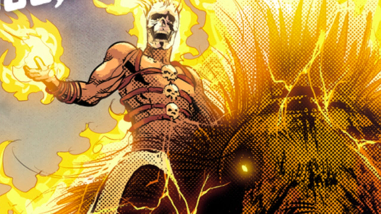 Ghost Rider Trades In His Bike For A Mastodon In Avengers BC