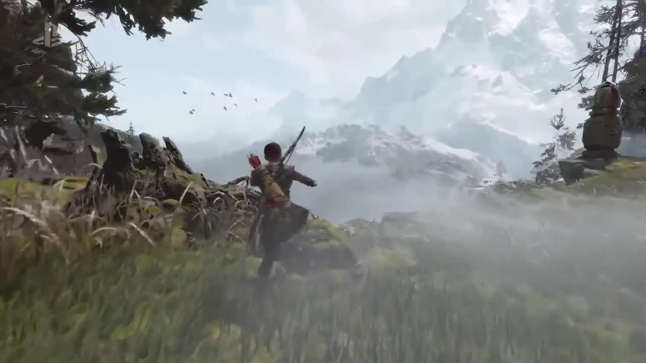 GOD OF WAR Gameplay Trailer (E3 2017) screen capture