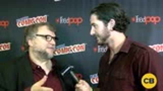 Guillermo Del Toro talks Trollhunters at the New York Comic Con screen capture