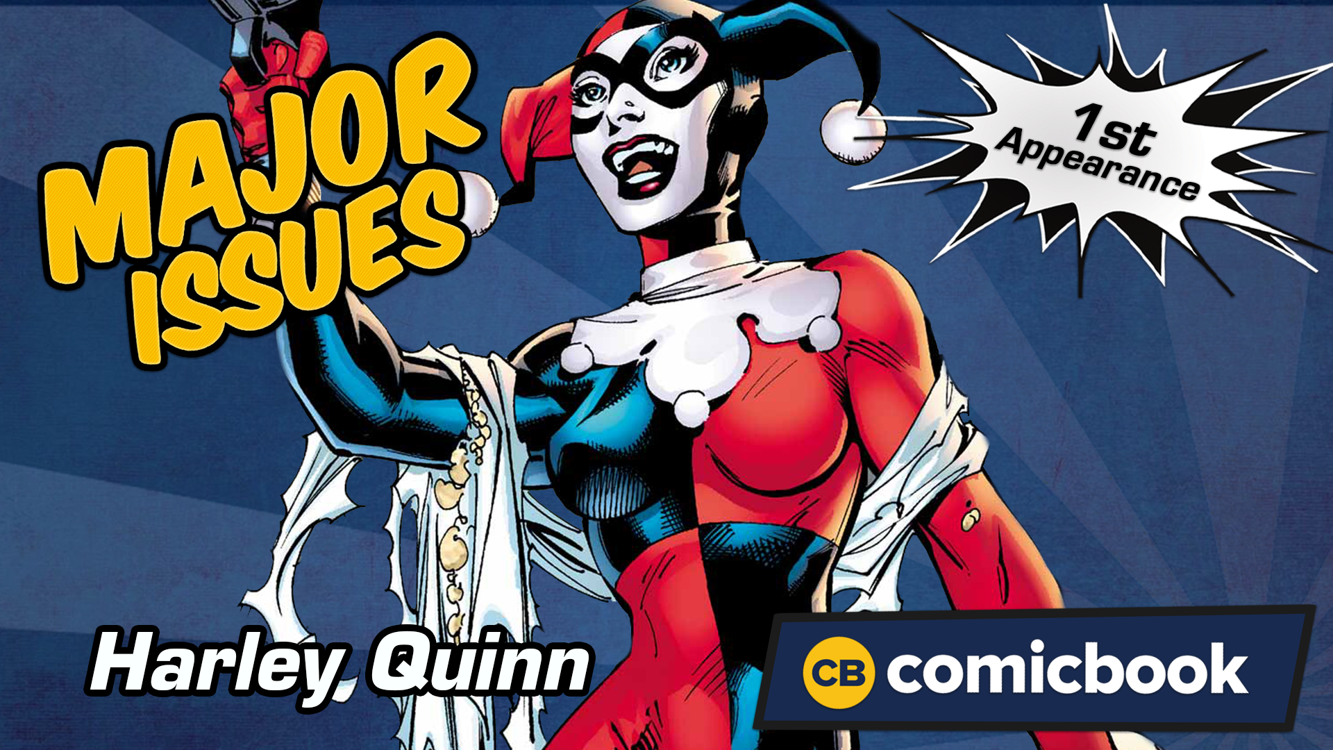 Harley Quinn's First Appearance - Major Issues screen capture
