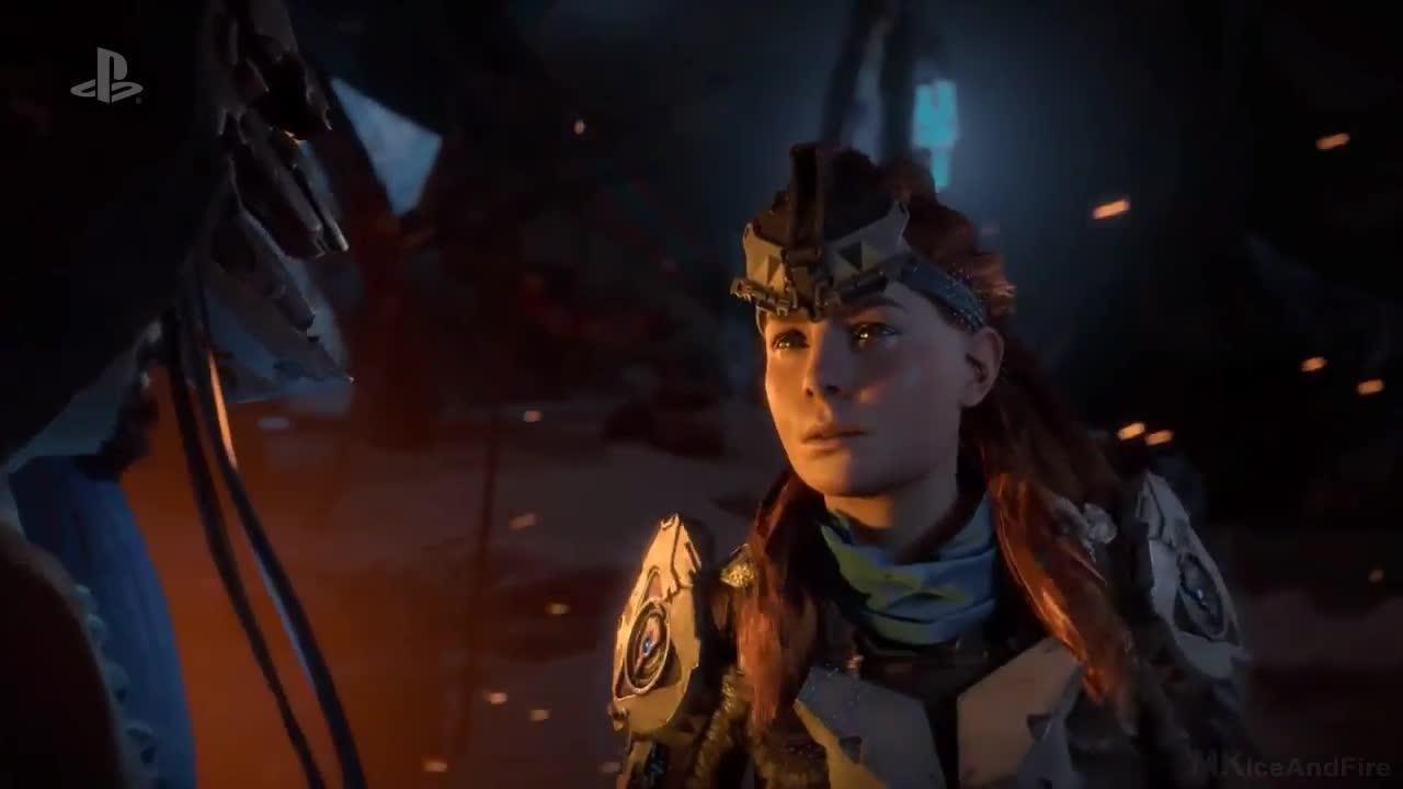 Horizon Zero Dawn: The Frozen Wilds - Trailer screen capture