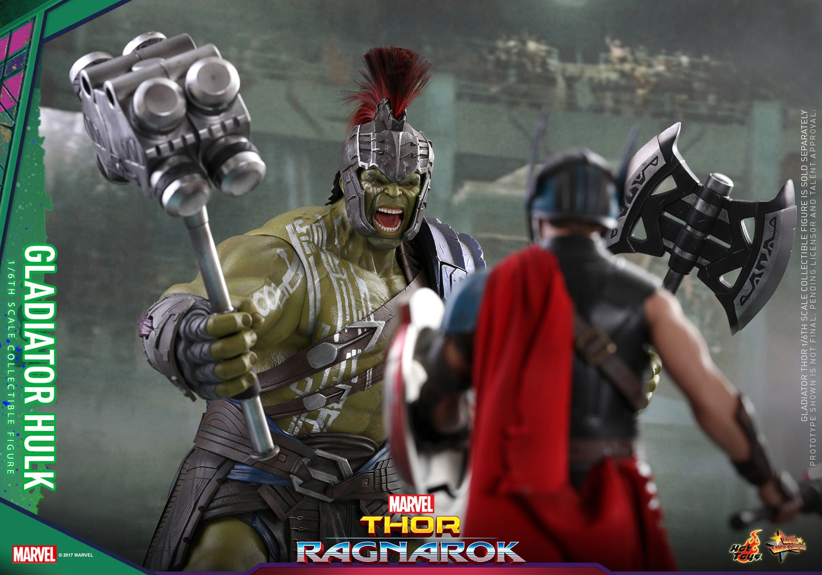 Hot Toys - Thor 3 - Gladiator Hulk Collectible Figure PR13