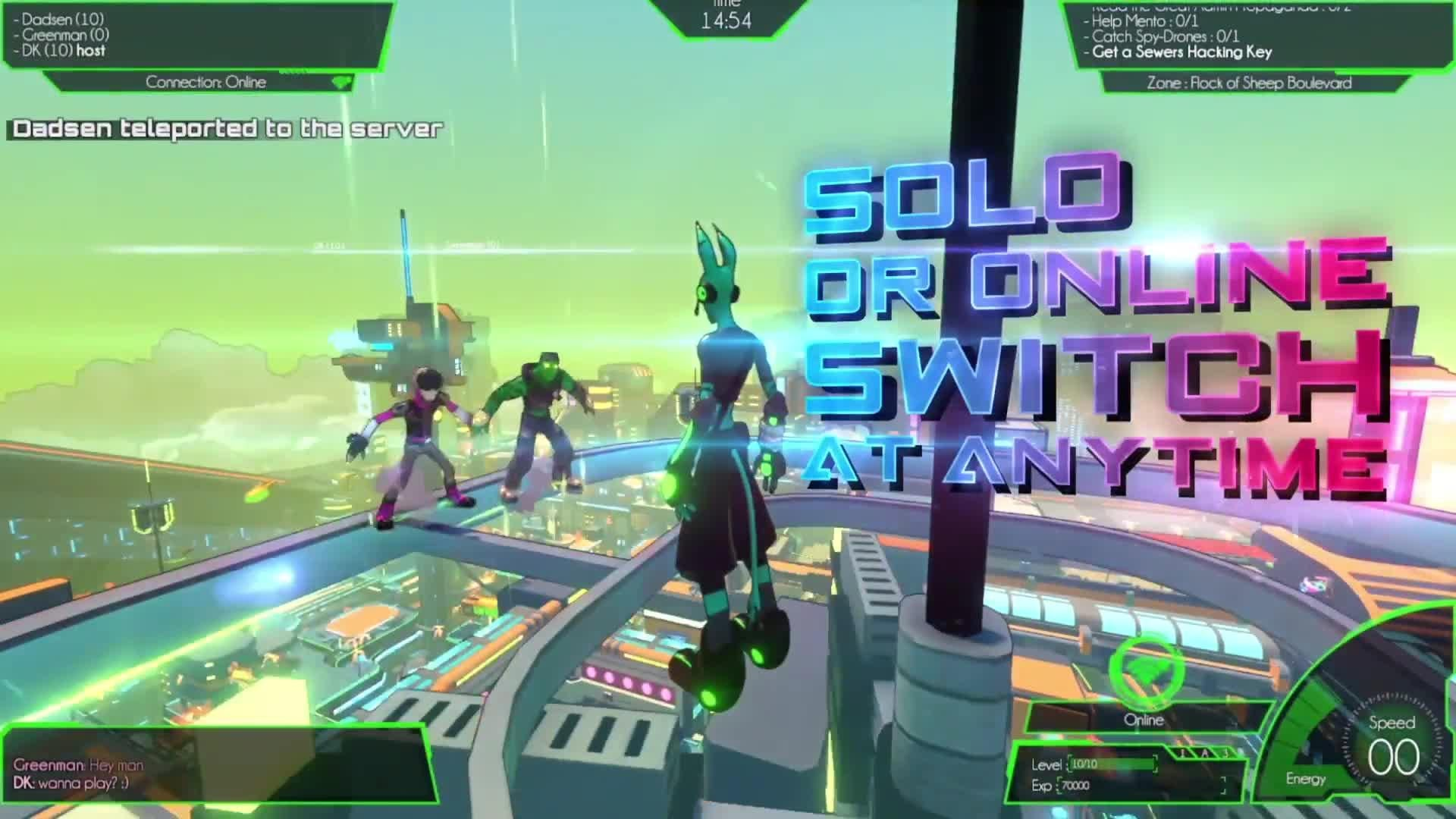 Hover: Revolt of Gamers Launch Trailer screen capture