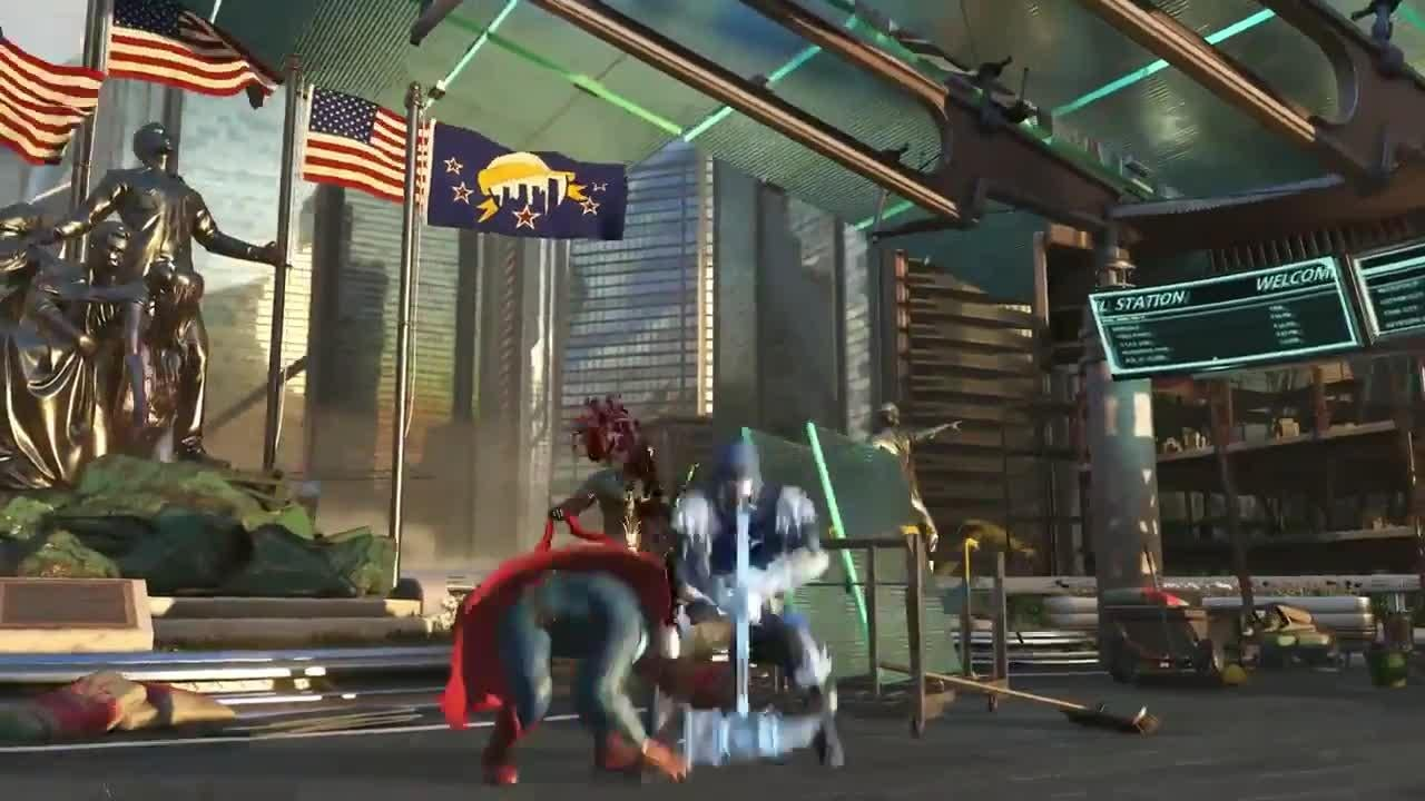 Introducing Sub-Zero: Injustice 2 screen capture
