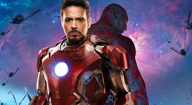 Iron Man Drax Avengers Infinit War
