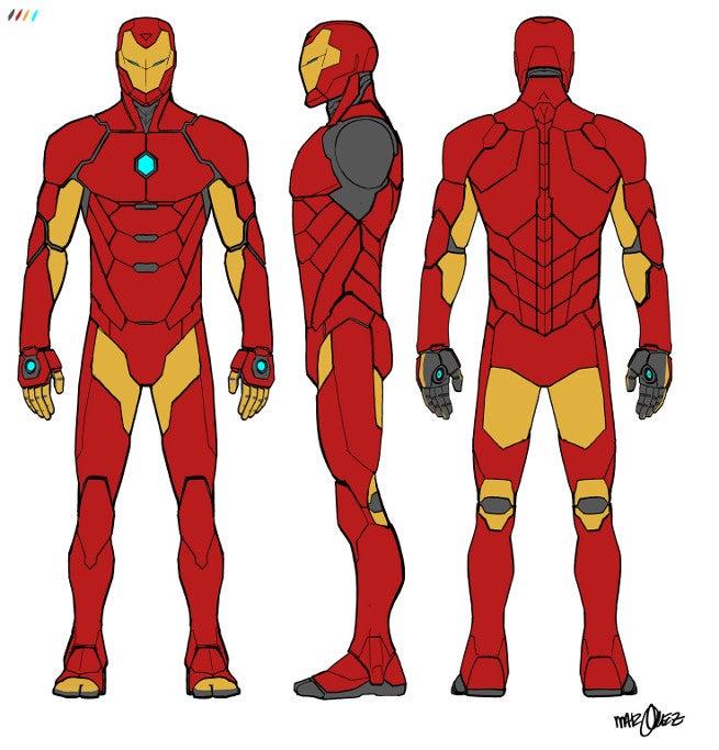 Iron Man Model-Prime Armor