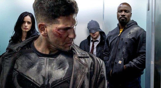 is punisher in defenders