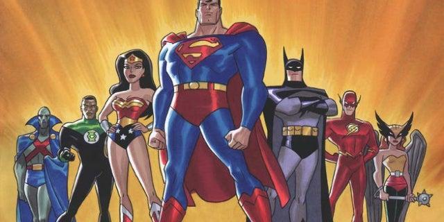 justice league animated series reunion denver comic con