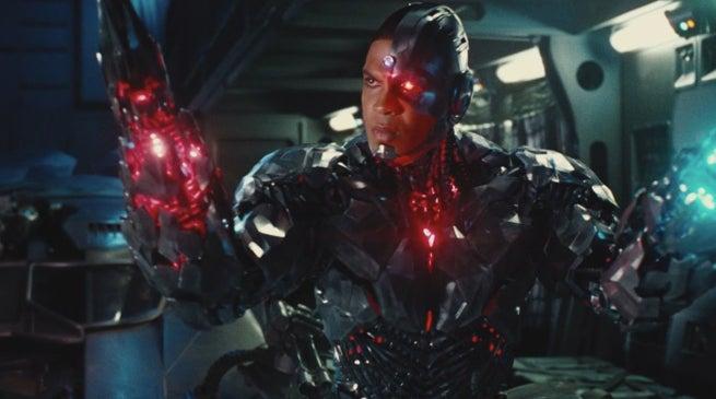 Justice League Star Reveals Cyborg Action Figure