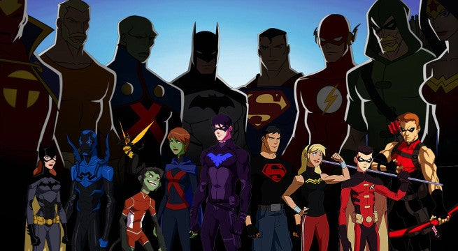 Justice League Young Justice Leaving Netflix in August