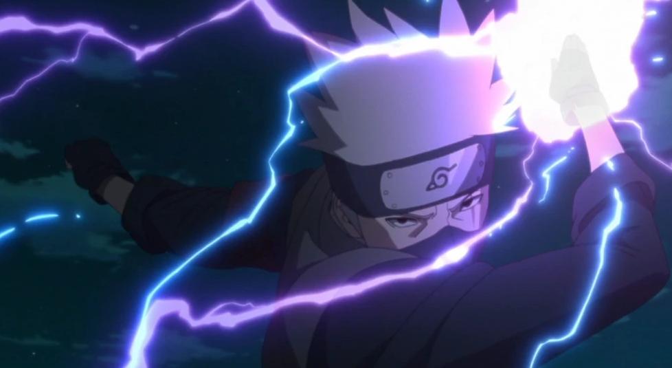 kakashi lightning