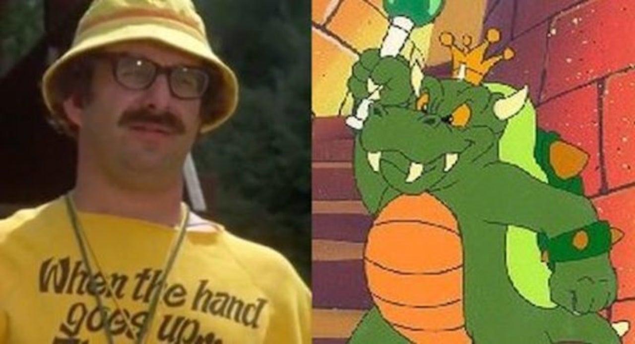 Harvey Atkin Voice Of King Koopa In Super Mario Bros