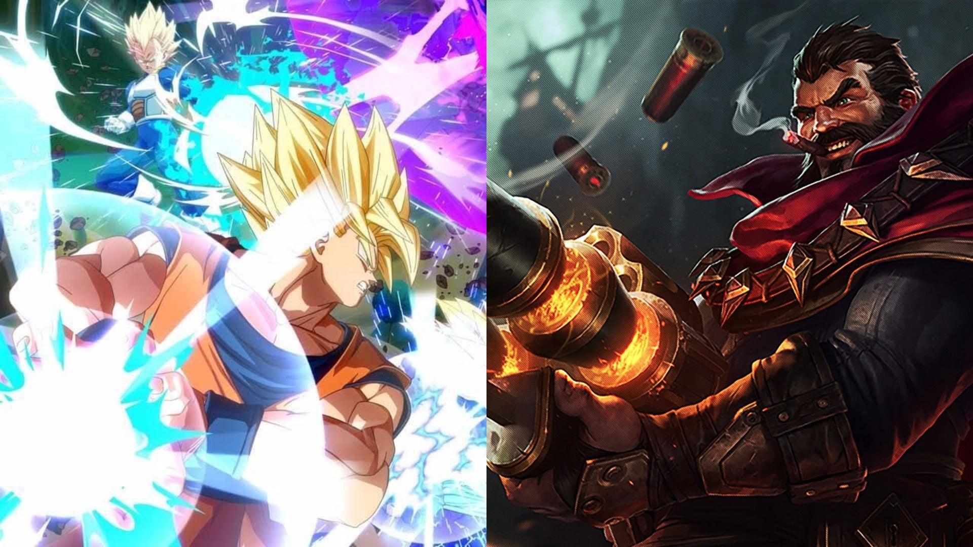 League Of Legends Dragon Ball Fighter