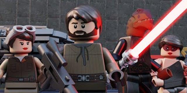 LEGO Star Wars Jedi Knight Fan Movie