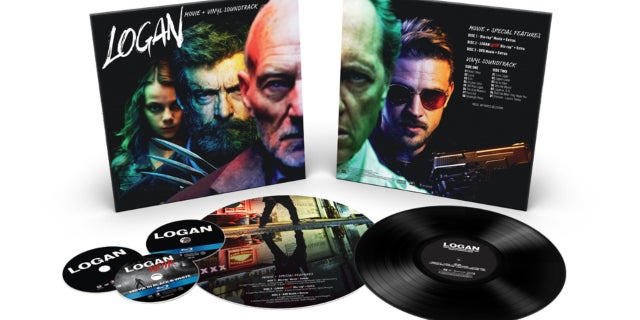 Logan Vinyl Set SDCC17
