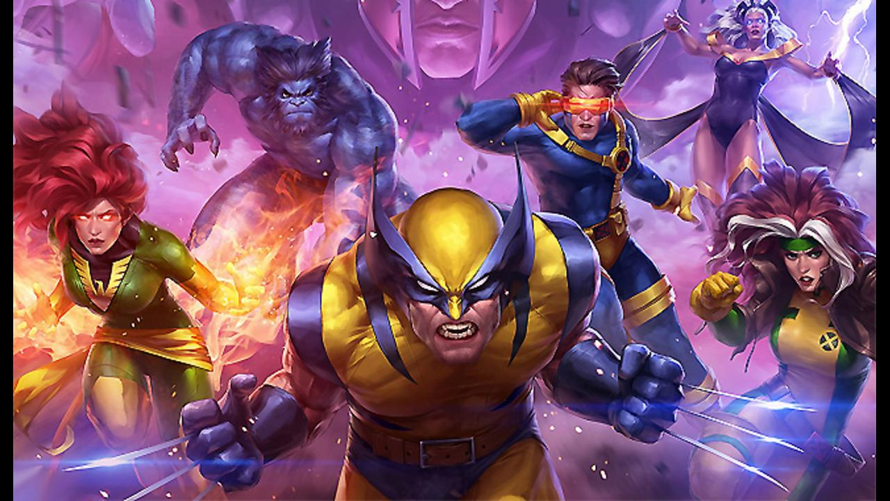 Marvel Future Fight X-Men Trailer screen capture