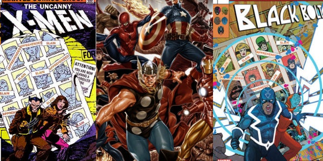 marvel legacy lenticular covers variant homage
