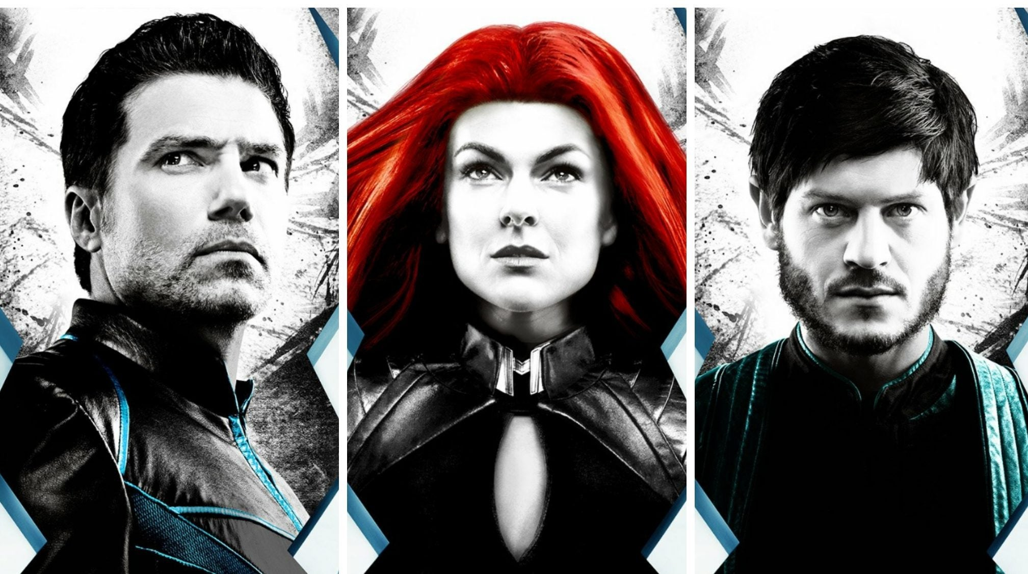 Marvel's Inhumans Character Posters