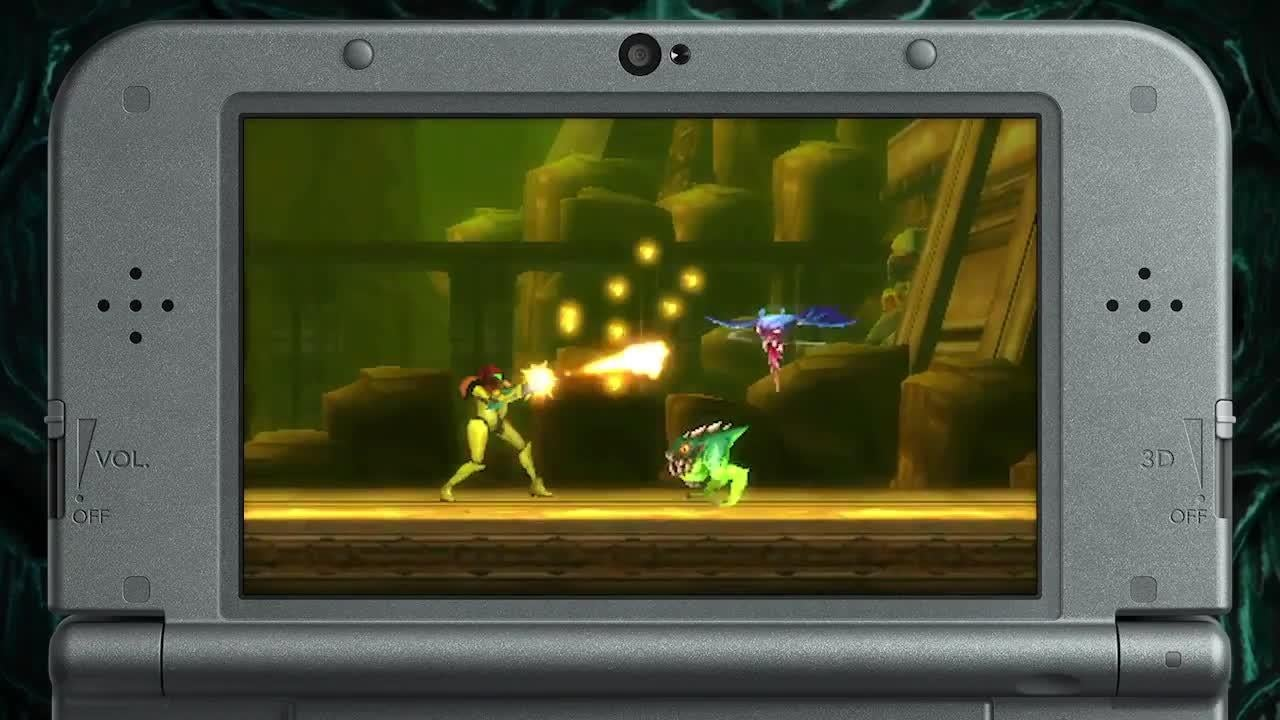 Metroid Samus Returns - Official Game Trailer screen capture