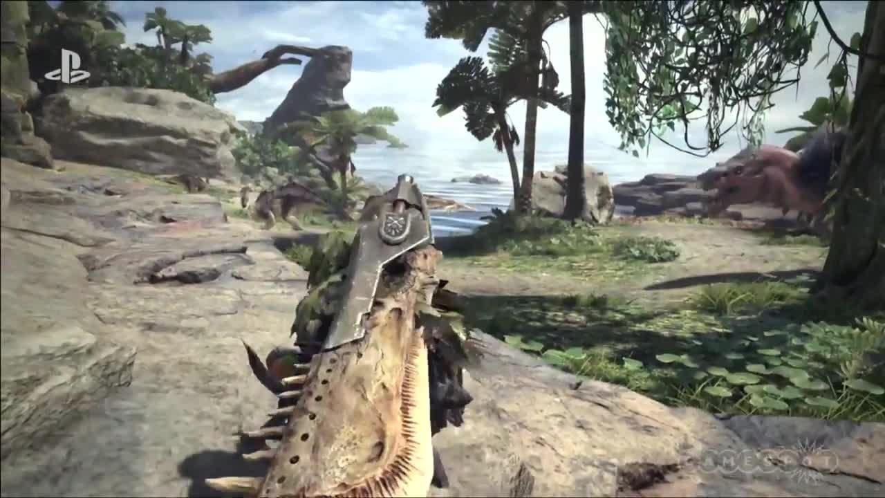 Monster Hunter World - Reveal Trailer screen capture