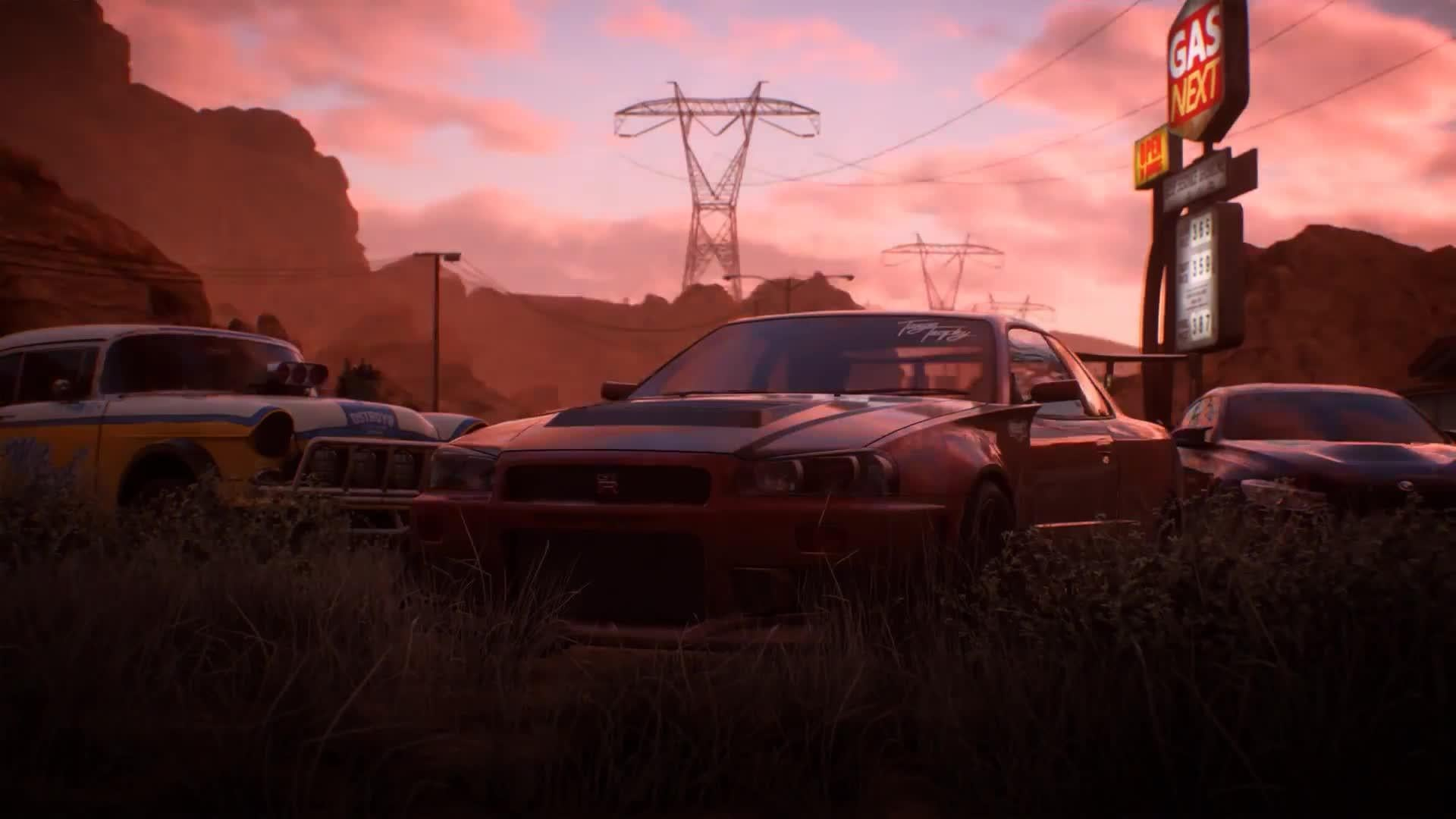 Need for Speed Payback Official Reveal Trailer screen capture