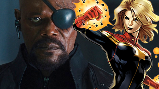nick fury captain marvel