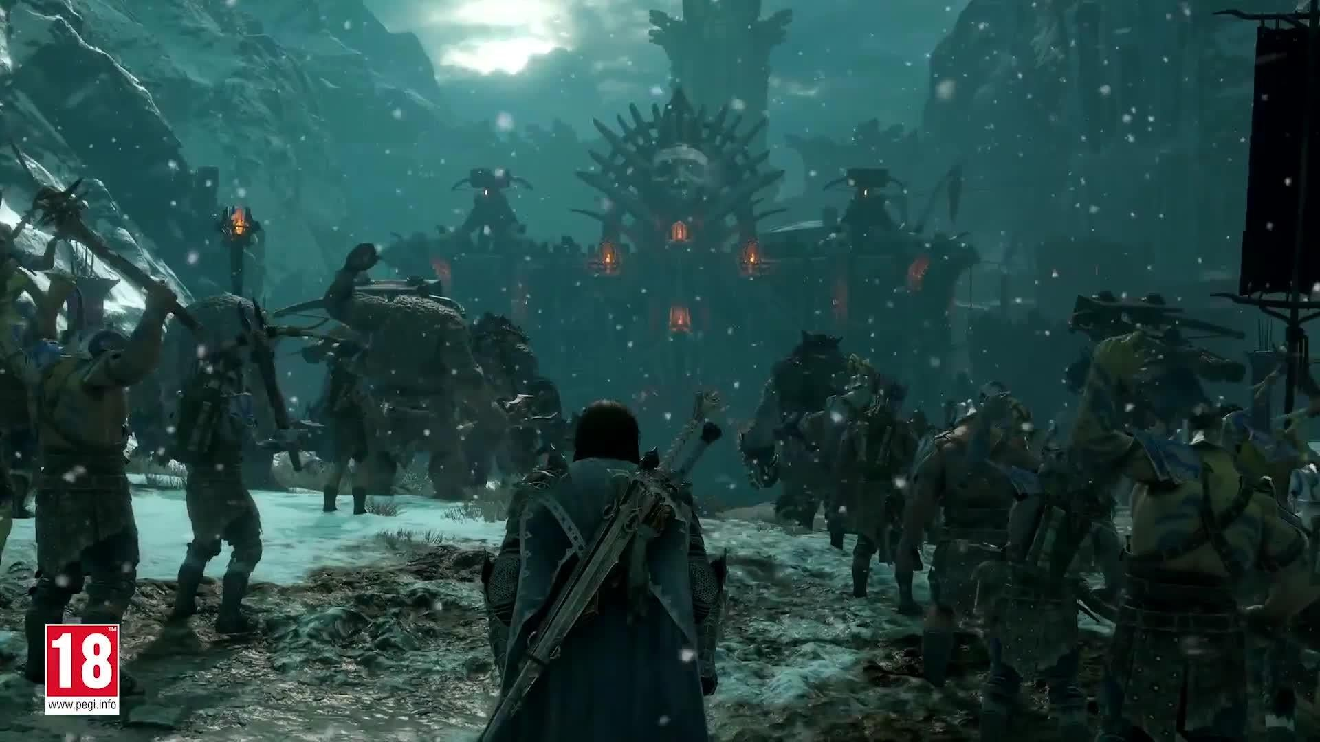 Official Middle-earth Shadow of War Story Trailer screen capture