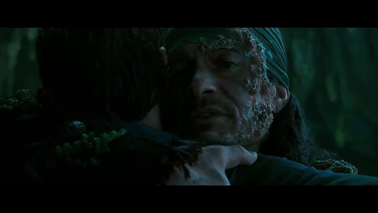PIRATES OF THE CARIBBEAN 5 Movie Clip - Will Turner Meets Son screen capture