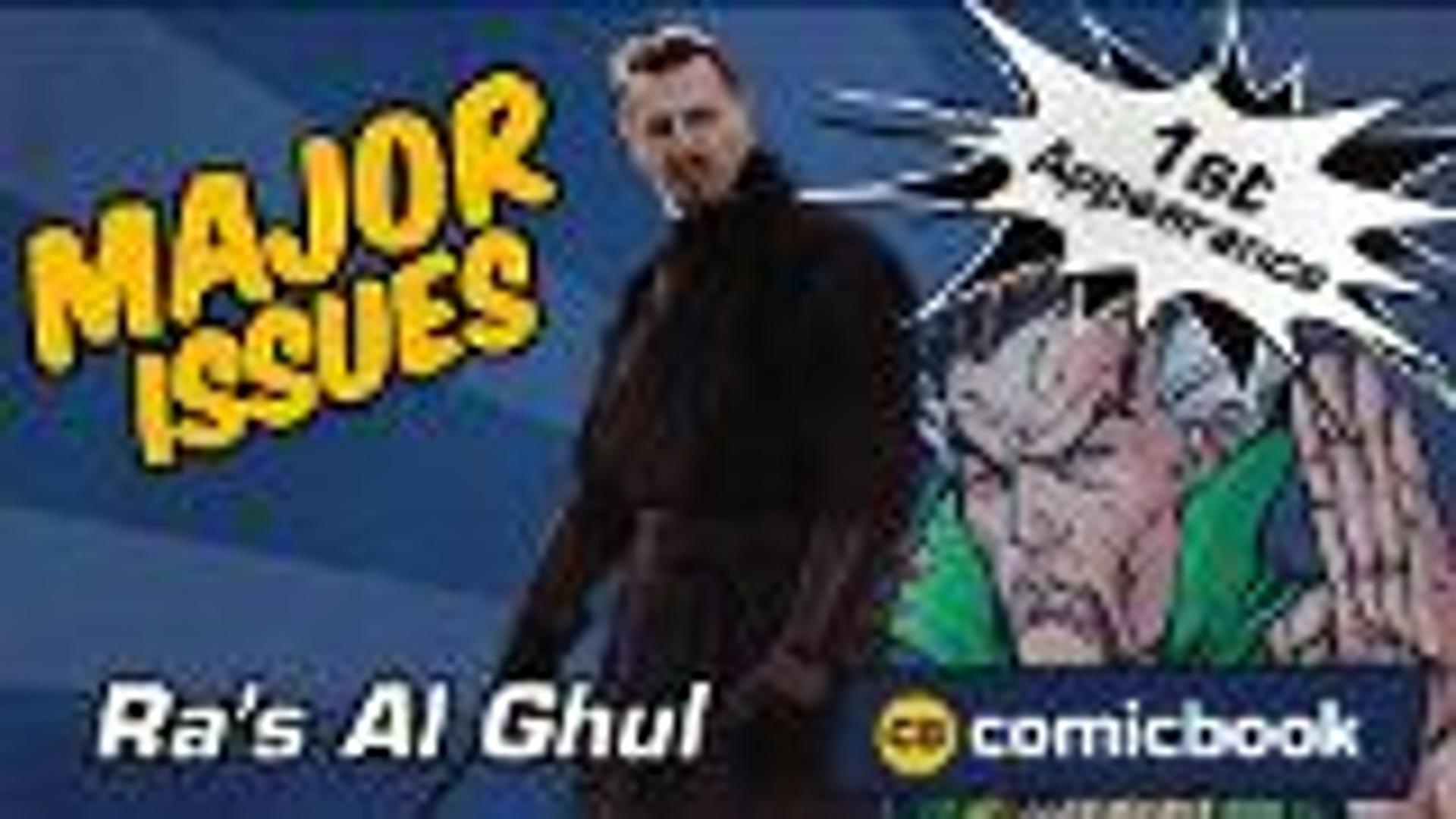 Ra's Al Ghul's First Appearance - Major Issues screen capture