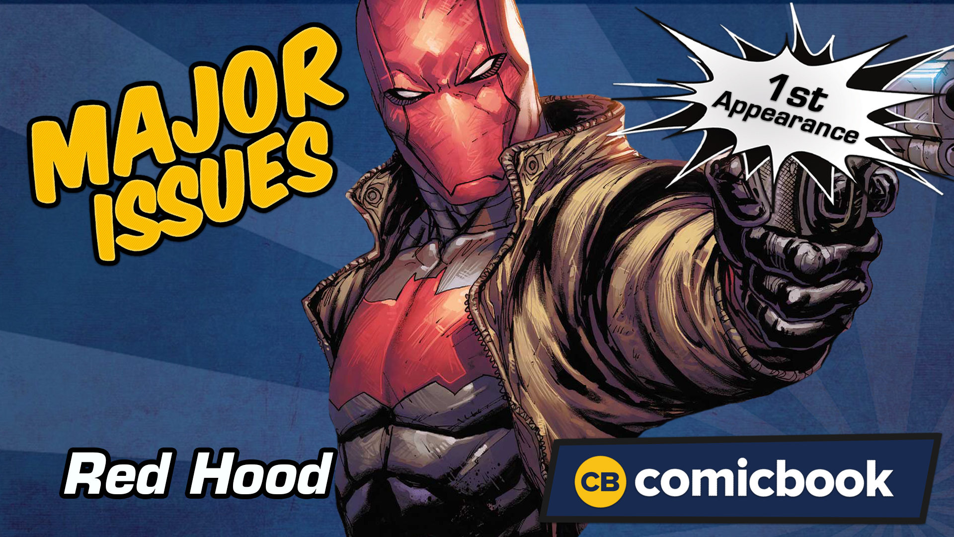 Red Hood's First Appearance - Major Issues screen capture
