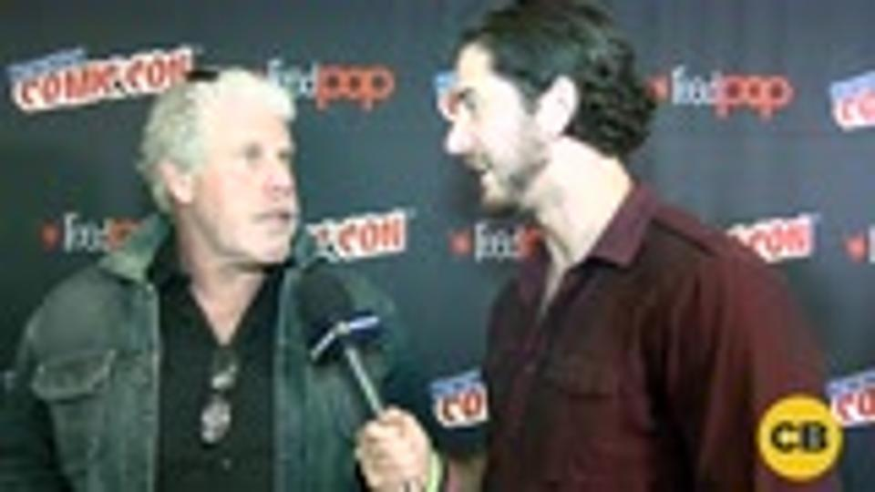 Ron Perlman Talks Trollhunters at the New York Comic Con screen capture