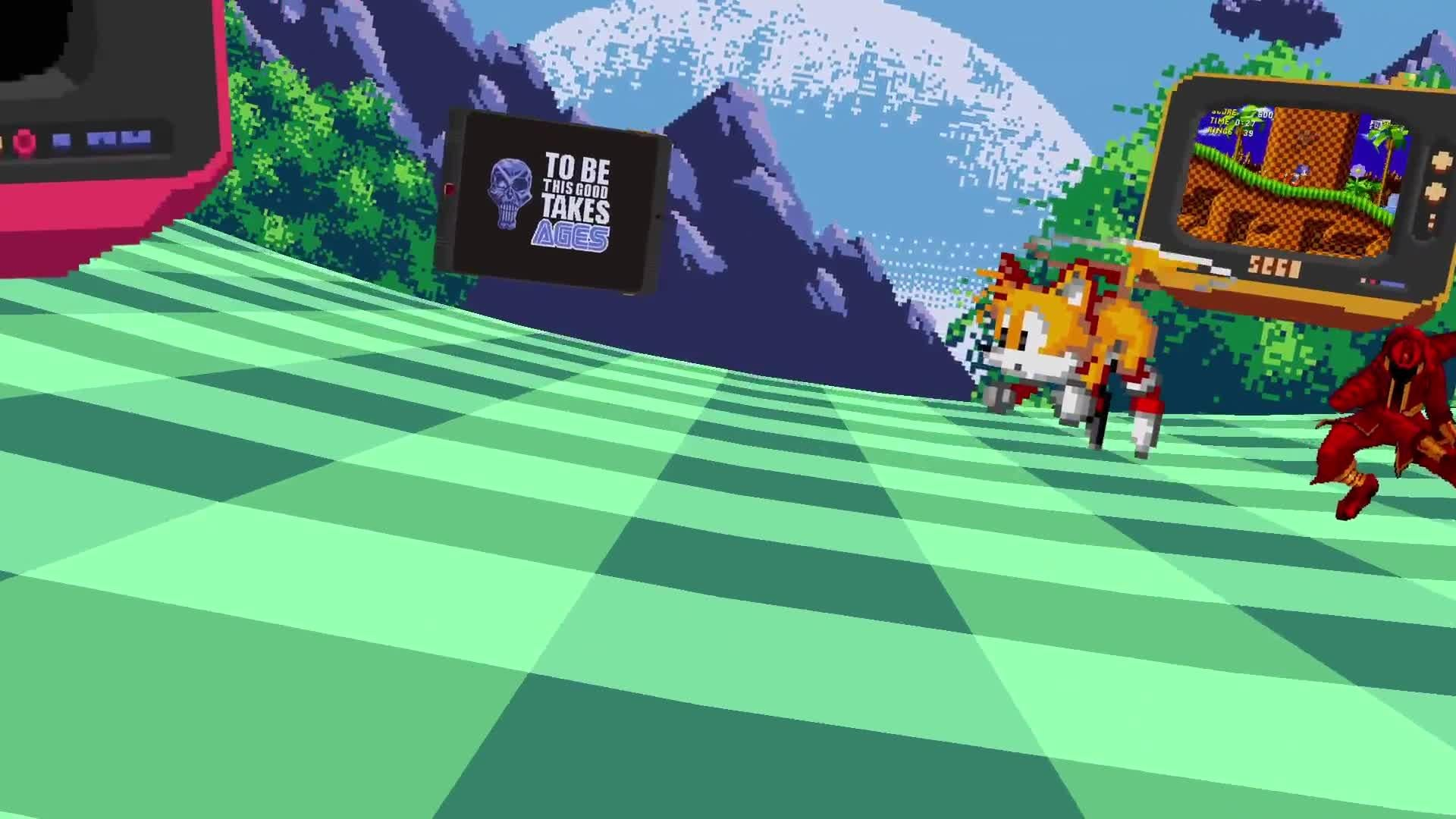 SEGA Forever launch trailer screen capture