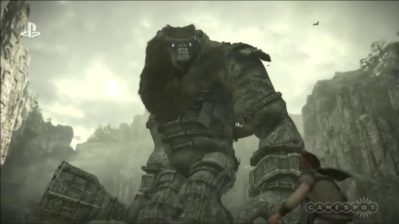 Shadow of the Colossus - Premiere Trailer screen capture