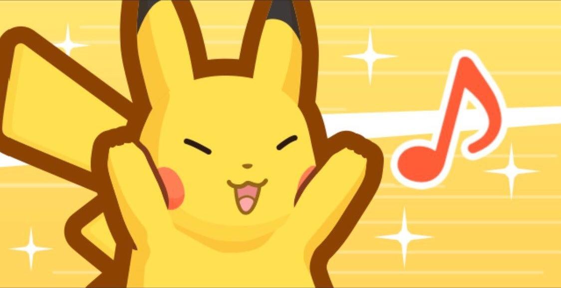 singing pikachu