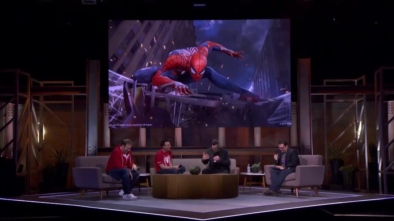 Spider-Man Fire at E3 screen capture