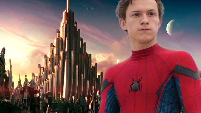 spider man homecoming asgard