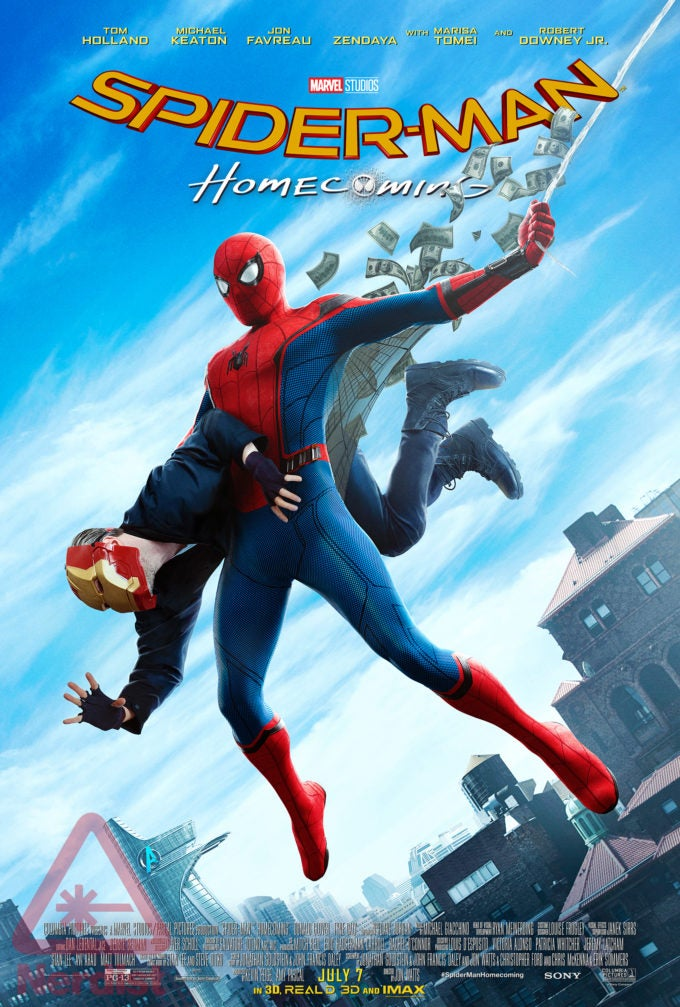 Spider-man Homecoming First Appearance Poster
