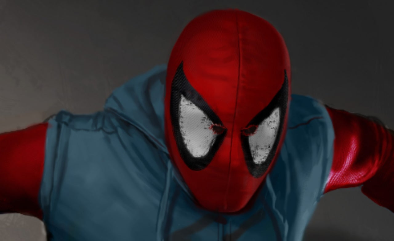 & New Concept Art For Homemade Suit In Spider-Man: Homecoming Revealed
