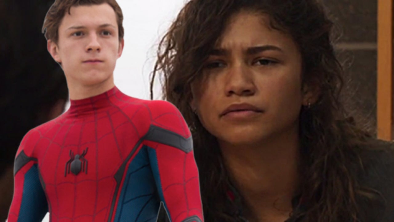 spider-man: far from home' set photos feature tom holland and zendaya